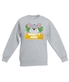 Sweater grijs voor kinderen met muisje mighty mike