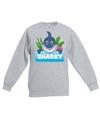 Sweater grijs voor kinderen met sharky de haai