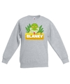 Sweater grijs voor kinderen met slanky de slang