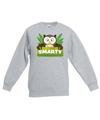 Sweater grijs voor kinderen met smarty de uil