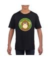 T shirt aap zwart kinderen