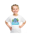 T shirt voor kinderen met flippy de dolfijn