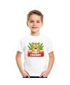 T shirt voor kinderen met luipaard fast freddy