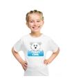 T shirt voor kinderen met teddy cool de ijsbeer