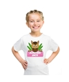 T shirt voor meisjes met paard jumping jack