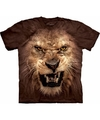 The mountain leeuwen t shirt bruin