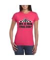 Toppers t shirt roze truc zien dames